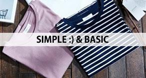 BASIC SIMPLE CLOTHES,ベーシックシンプルライン服